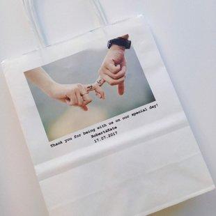 Papīra maisiņu pilnkrāsu apdruka